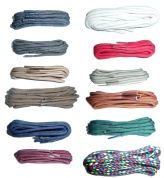 BRITISH QUALITY Shoe Laces 60cm long thick cord  choice of colours